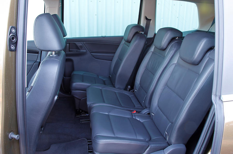 Seat Alhambra middle row seats
