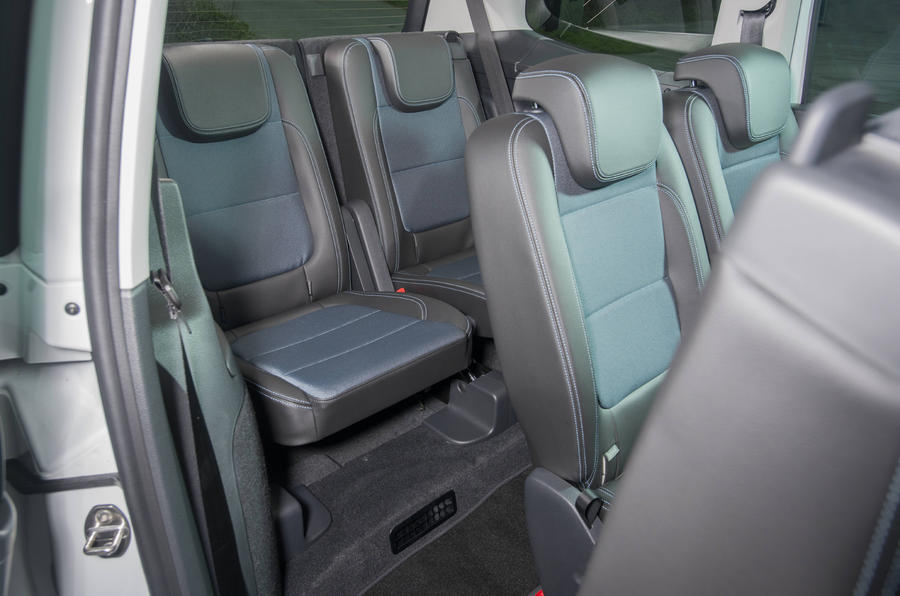 Seat Alhambra third row seats