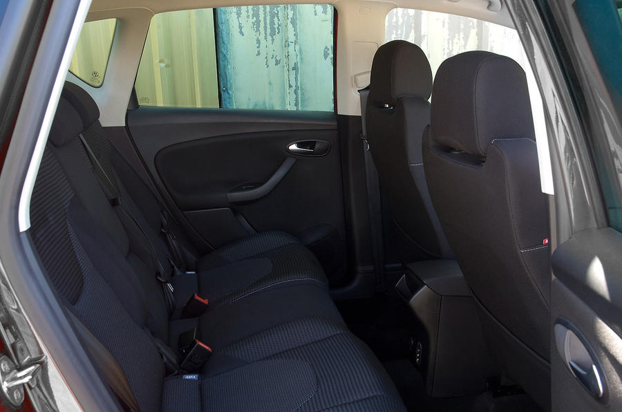 Seat Altea rear seats