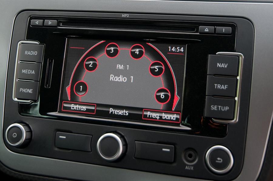 Seat Altea infotainment system