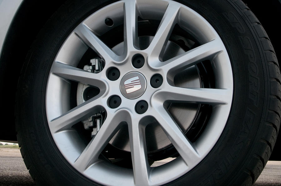 17in Seat Altea alloy wheels