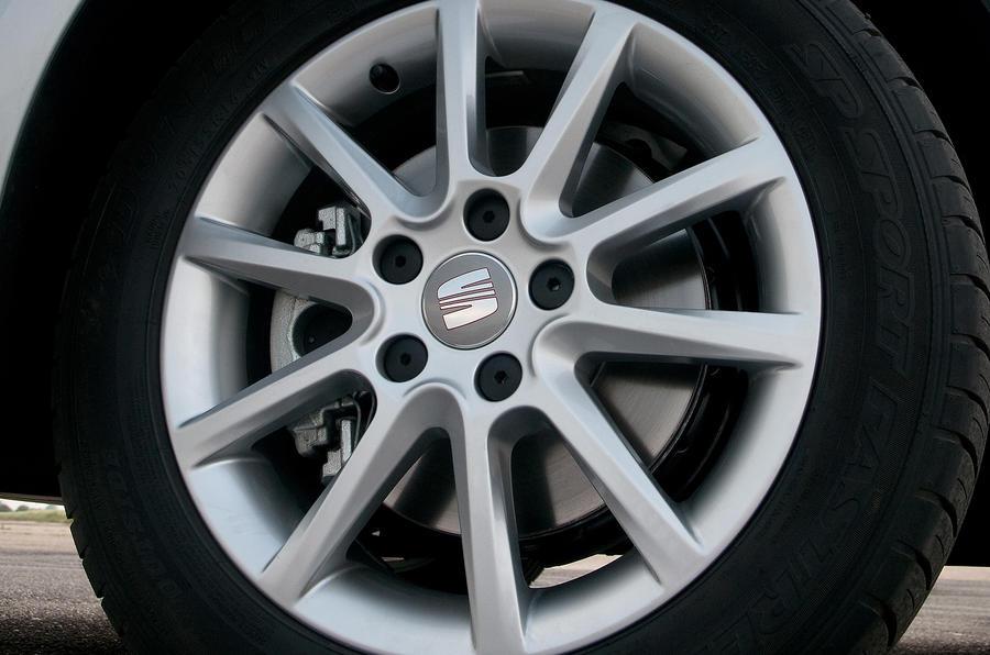 17in Seat Altea alloy wheels