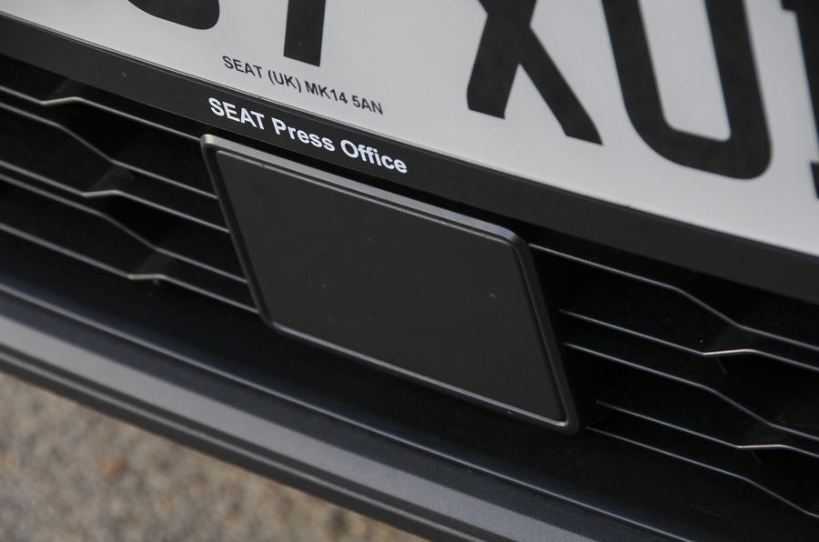 Seat Arona front sensor
