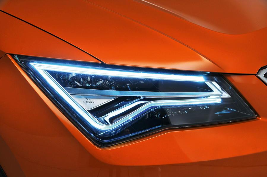 Seat Ateca LED headlights