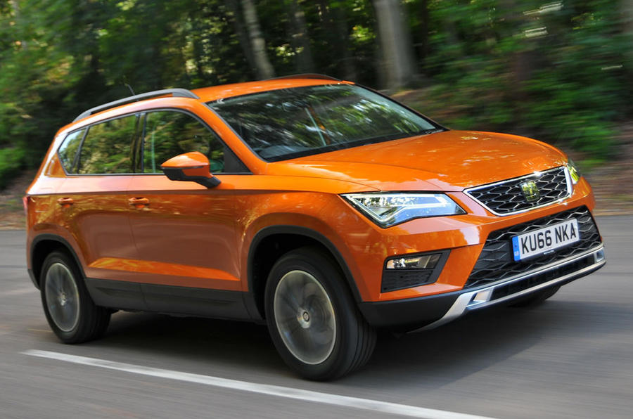 seat ateca review 2018 autocar. Black Bedroom Furniture Sets. Home Design Ideas
