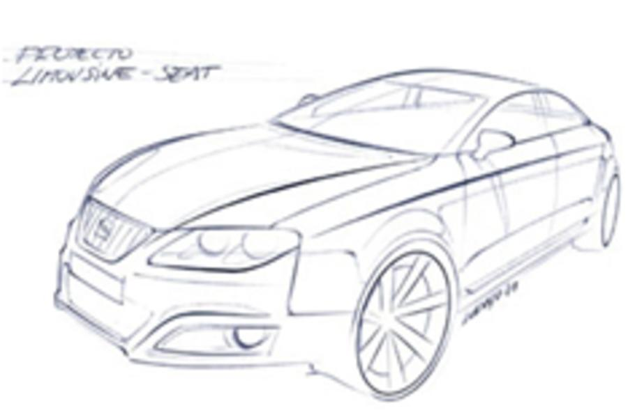 First glimpse of next Seat Toledo