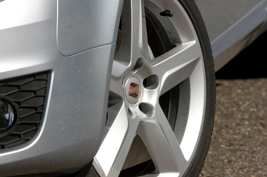 18in Seat Exeo alloy wheels