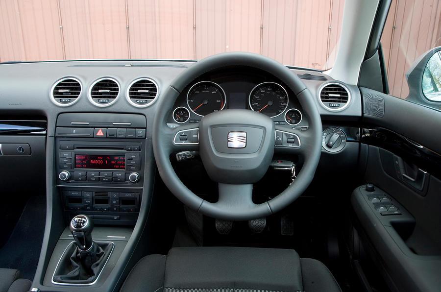 Seat Exeo dashboard
