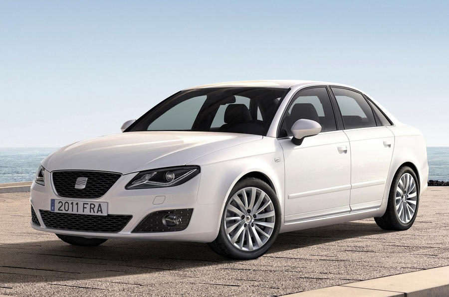 Seat Exeo facelifted