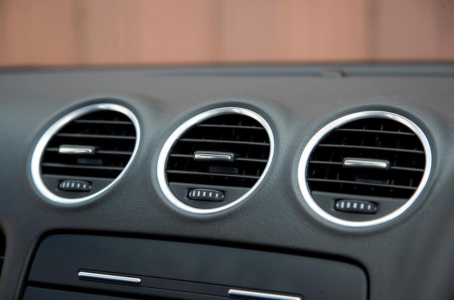 Seat Exeo air vents