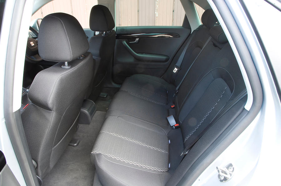 Seat Exeo rear seats