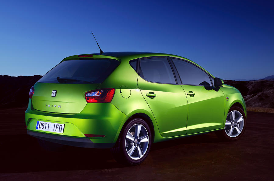 Seat Ibiza facelift: official pics