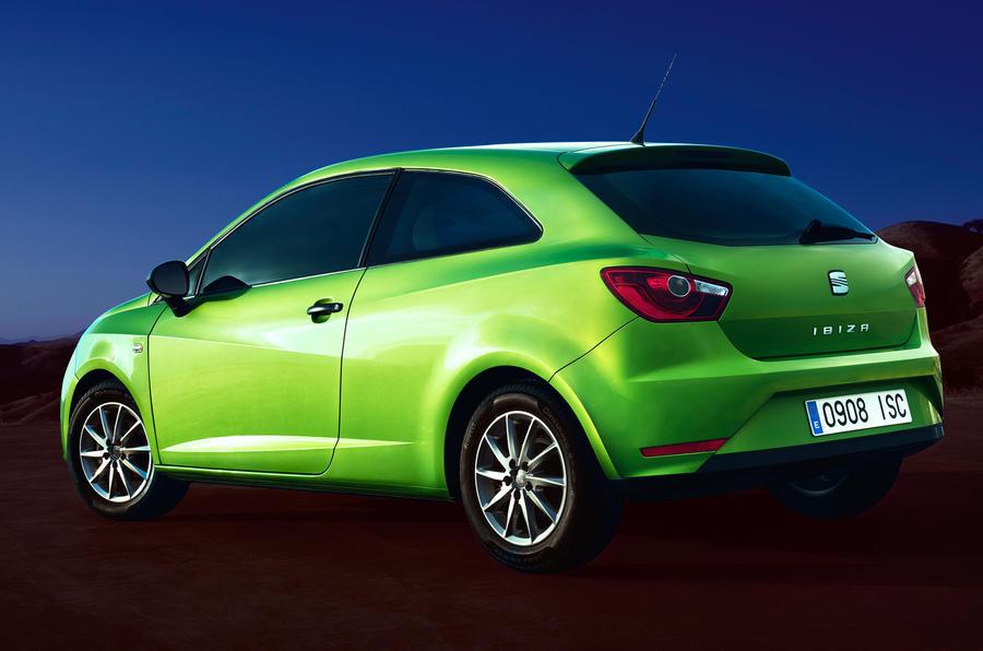Seat Ibiza facelift: official pics