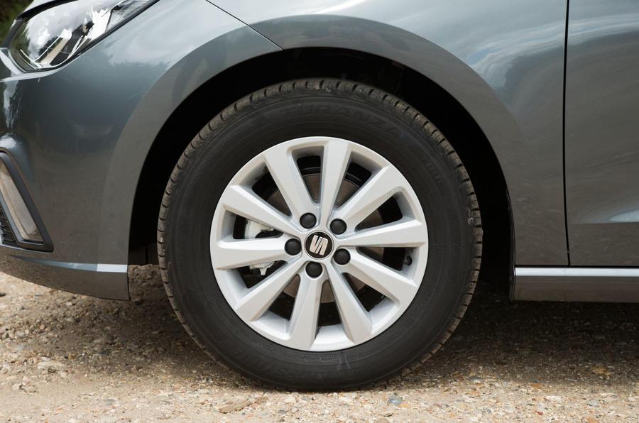 15in Seat Ibiza alloy wheels