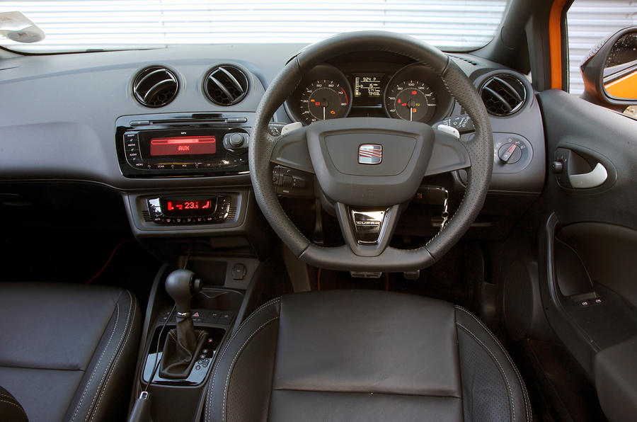 Seat ibiza cupra interior autocar for Seat ibiza cupra interior