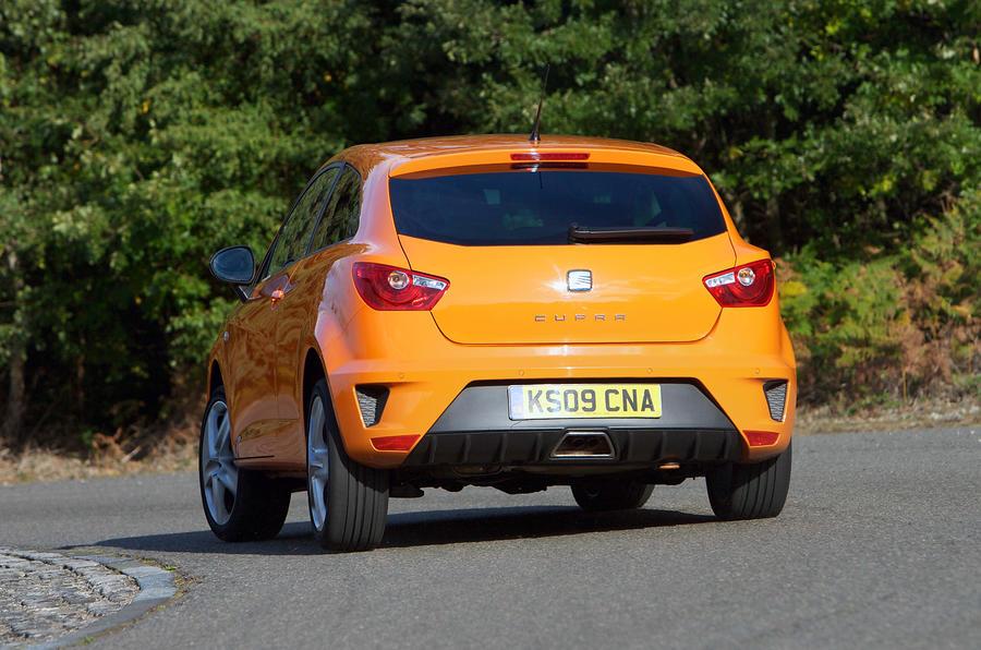 Seat Ibiza Cupra rear cornering