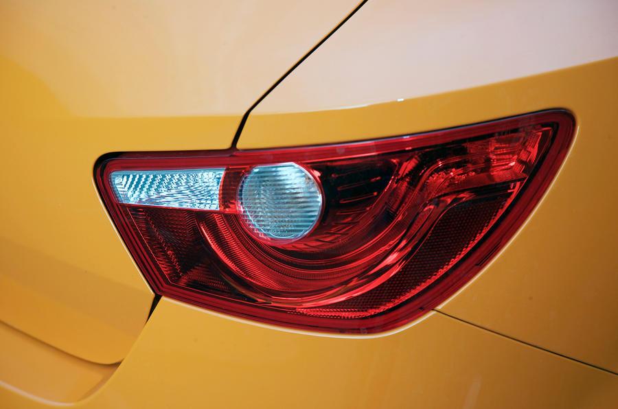 Seat Ibiza Cupra rear lights