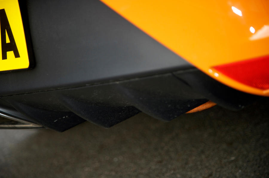 Seat Ibiza Cupra rear diffuser