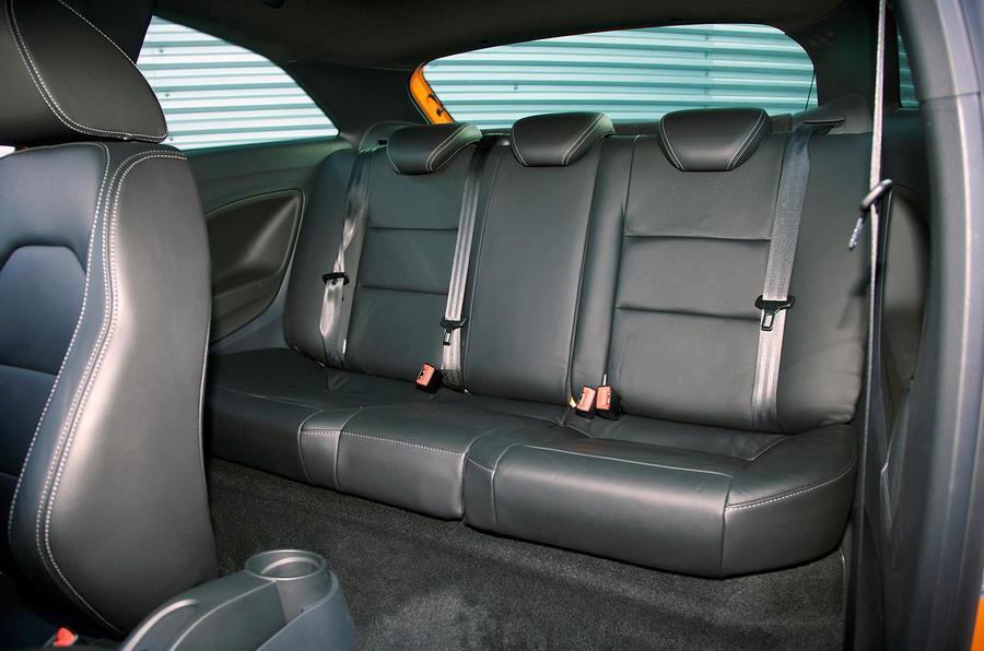 Seat Ibiza Cupra rear seats