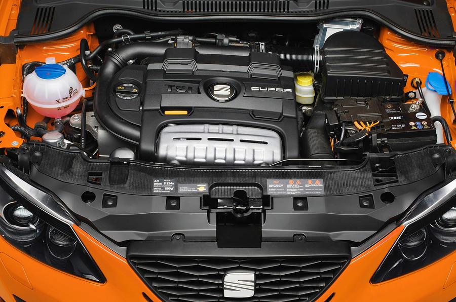 1.4-litre TSI Seat Ibiza Cupra engine