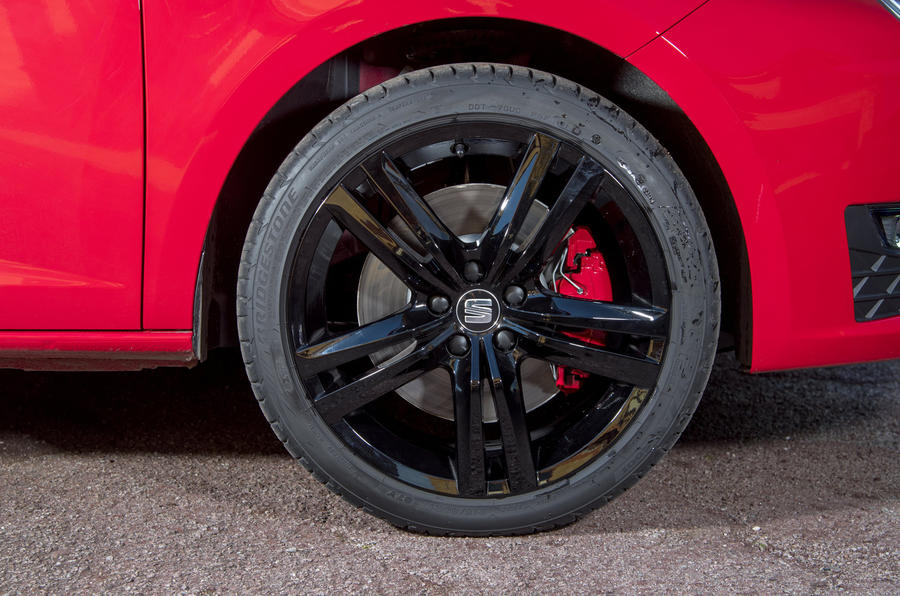 Seat Ibiza Cupra alloy wheels