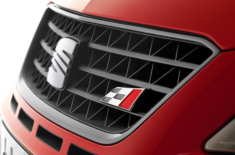 Seat Ibiza Cupra badging