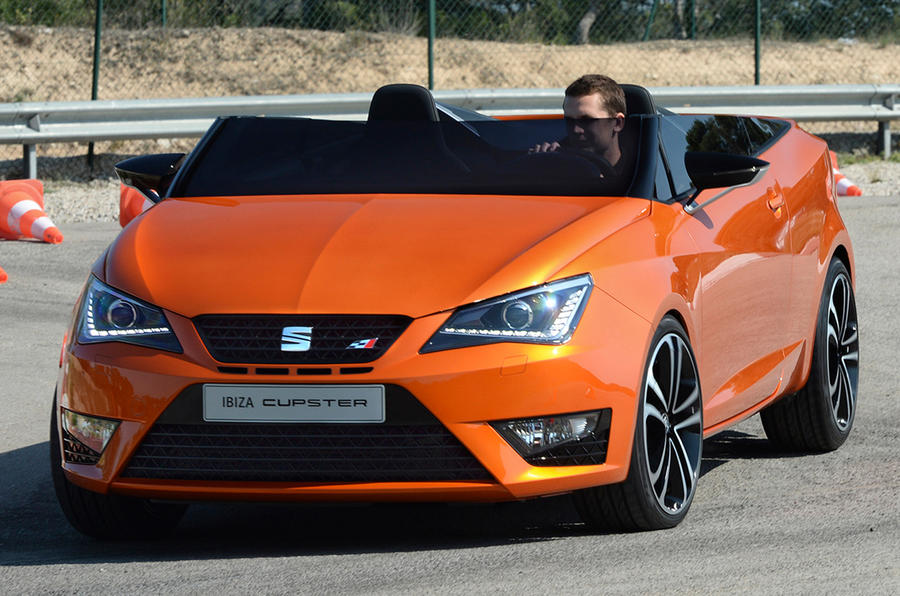 Driving the Seat Ibiza Cupster concept