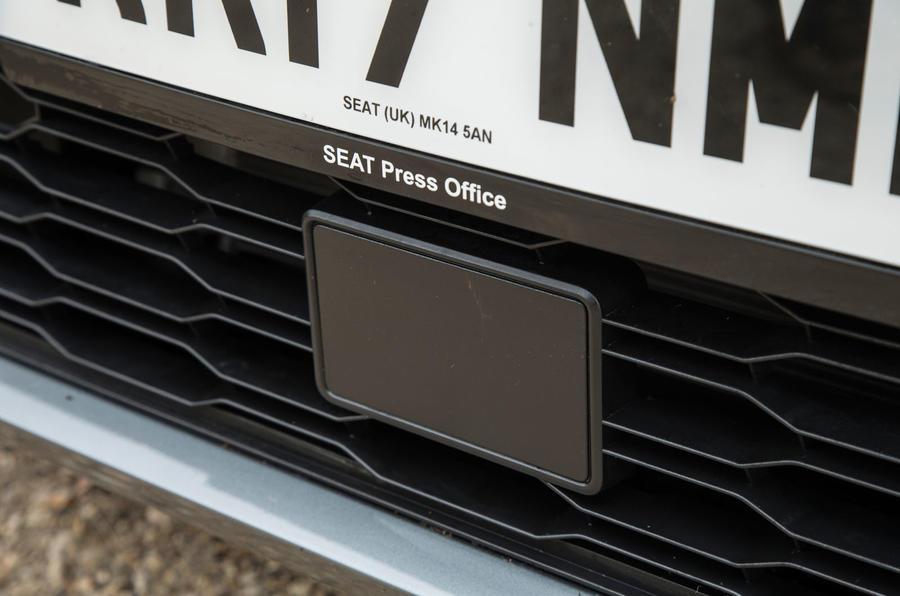 Seat Ibiza front sensor