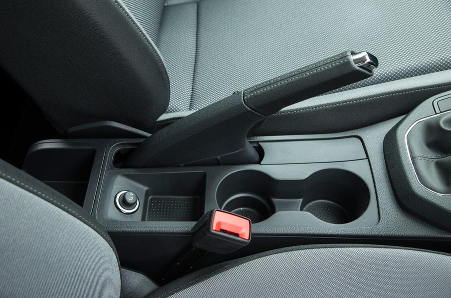 Seat Ibiza handbrake