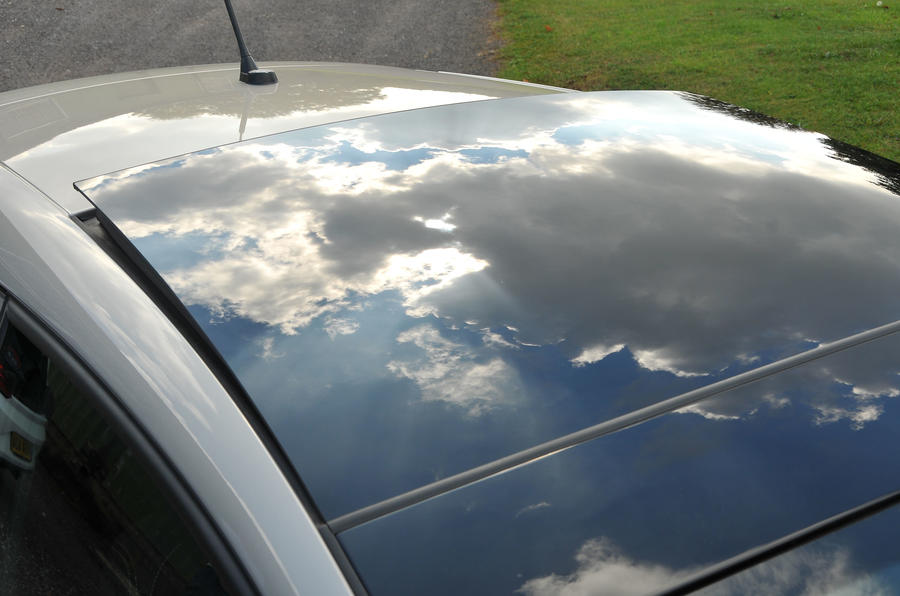 Seat Ibiza panoramic sunroof