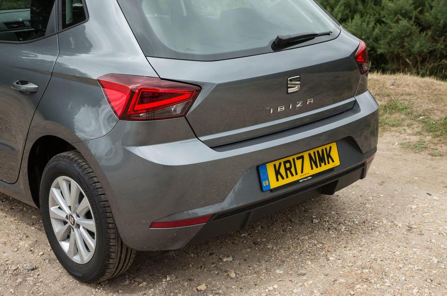 Seat Ibiza rear end
