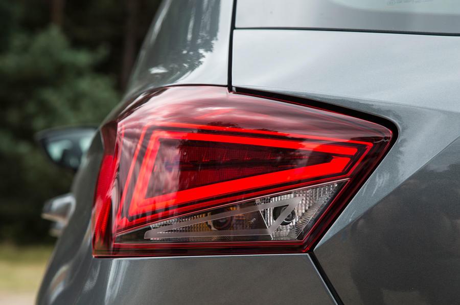 Seat Ibiza rear LED lights