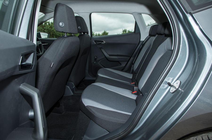 Seat Ibiza rear seats