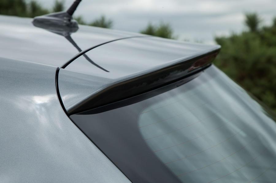 Seat Ibiza rear spoiler