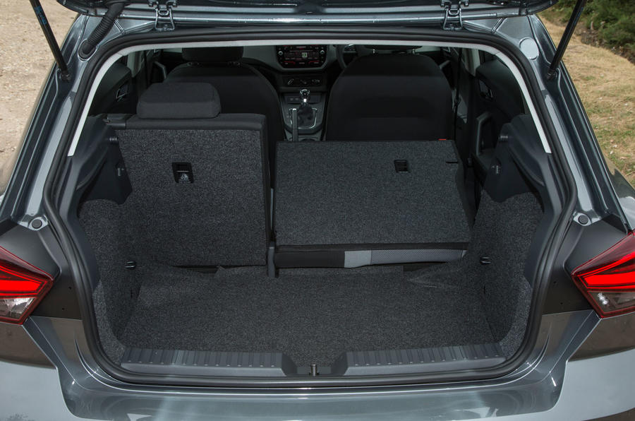 Seat Ibiza seating flexibility