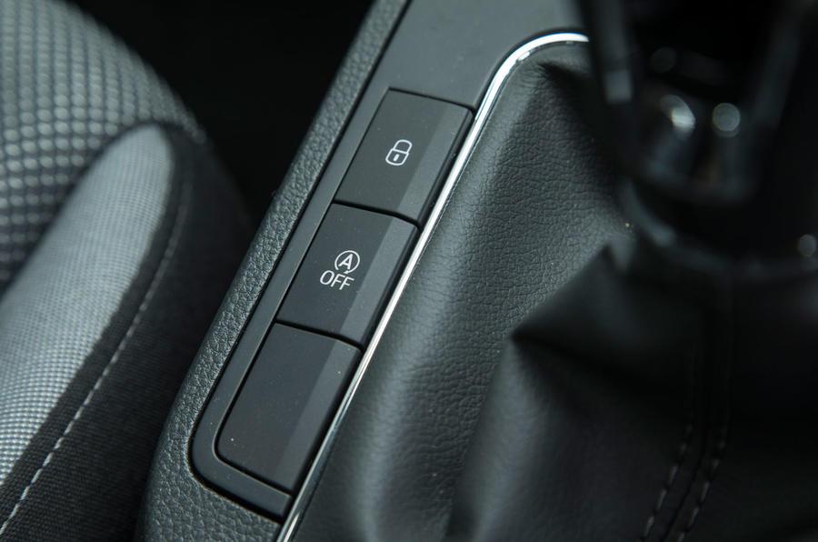 Seat Ibiza switchgear