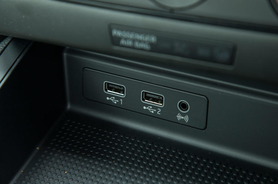 Seat Ibiza USB ports