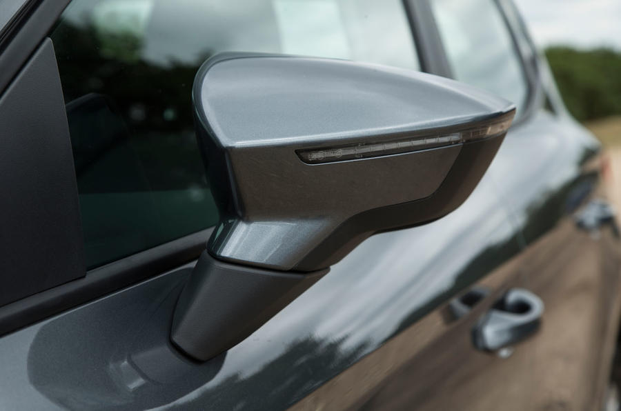 Seat Ibiza wing mirror