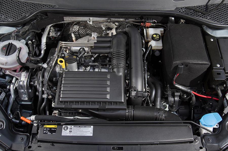 1.6-litre Seat Leon diesel engine