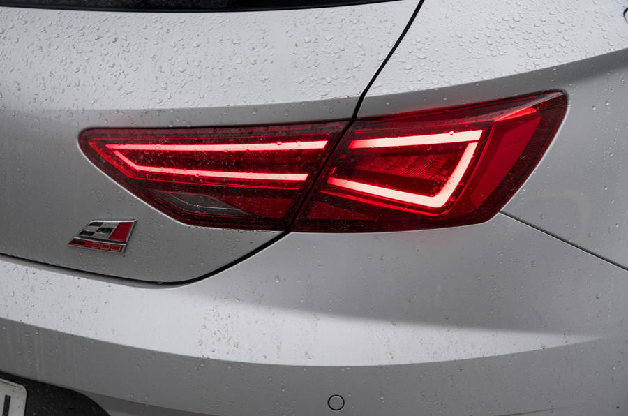 Seat Leon Cupra rear lights