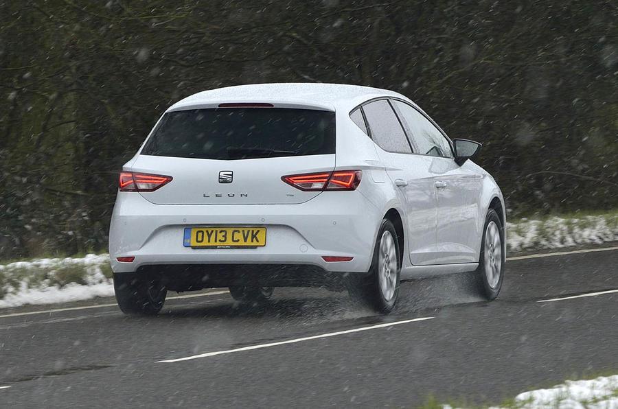 Seat Leon Ecomotive rear