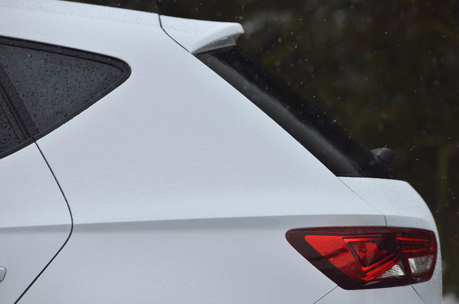 Seat Leon Ecomotive rear spoiler