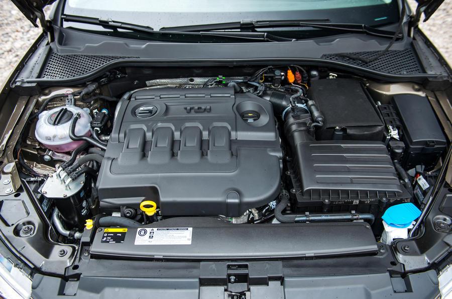2.0-litre Seat Leon X-Perience diesel engine