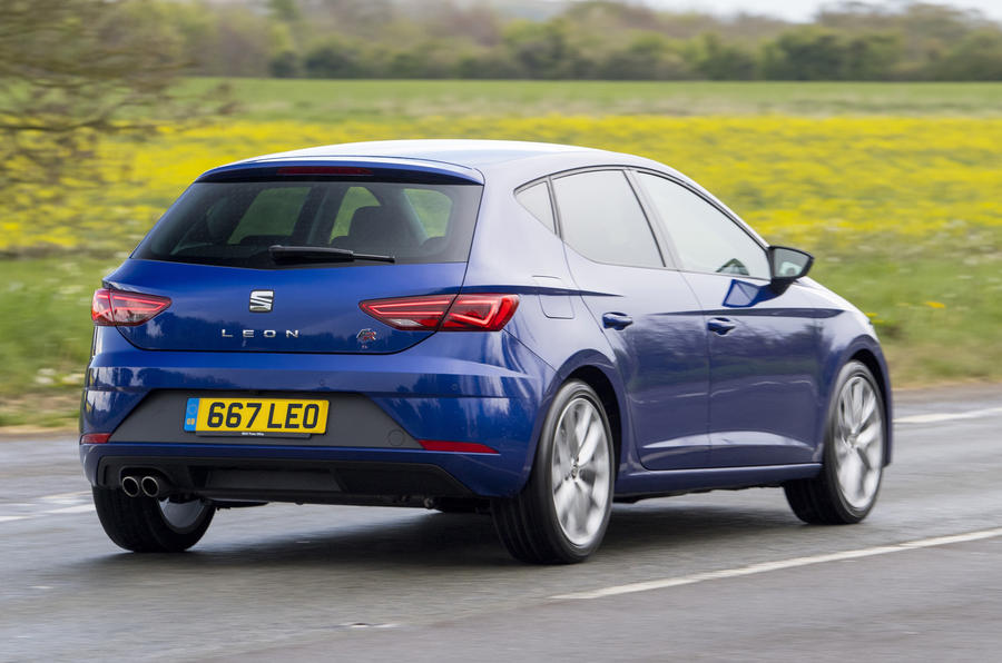 Seat Leon 5dr hatch rear