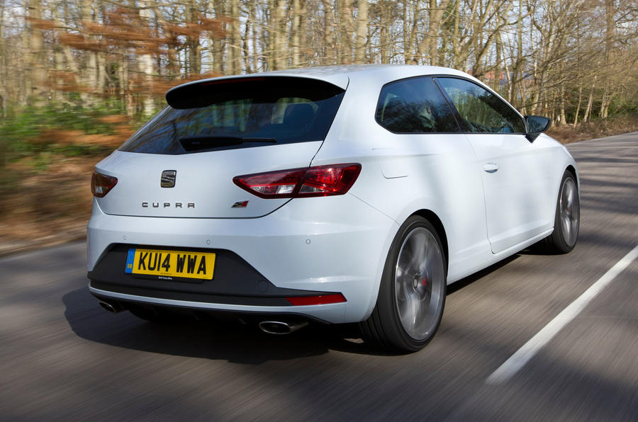 seat leon cupra review 2017 autocar. Black Bedroom Furniture Sets. Home Design Ideas