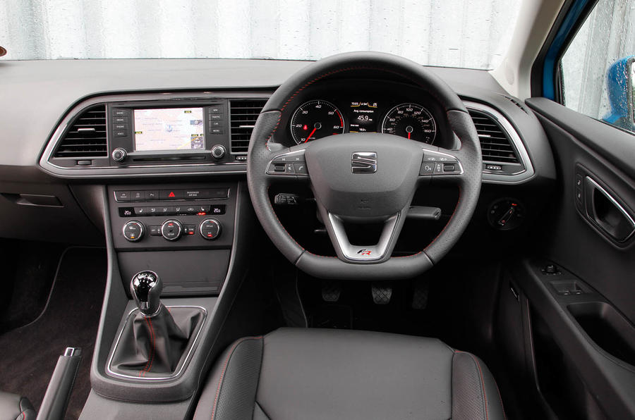 Seat Leon Sc Interior Autocar