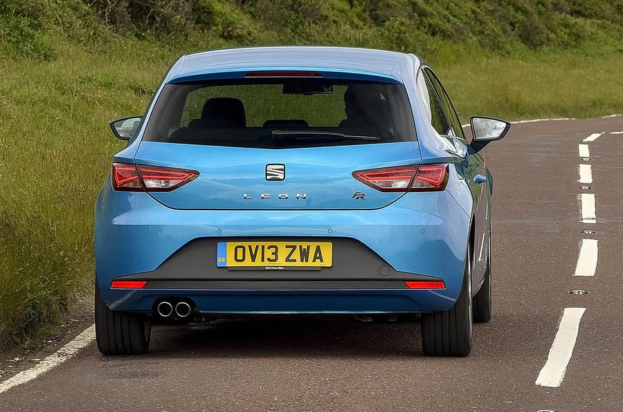 Seat Leon SC 1.2 TSI rear