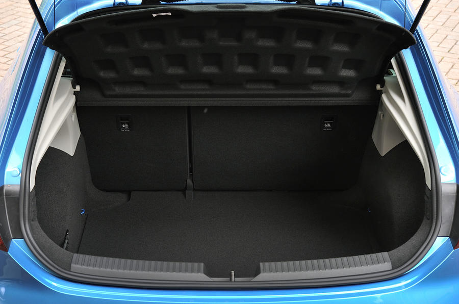 Seat Leon SC boot space
