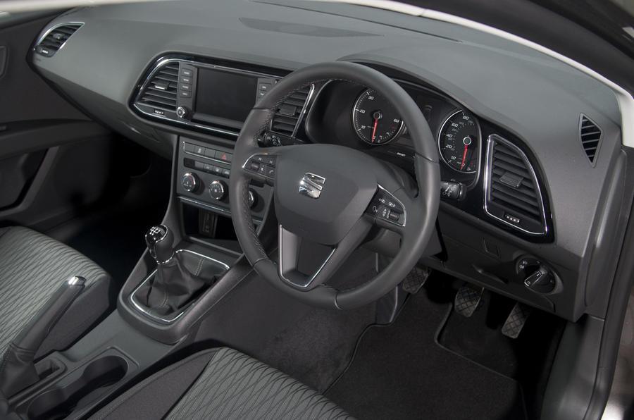 Seat Leon ST dashboard