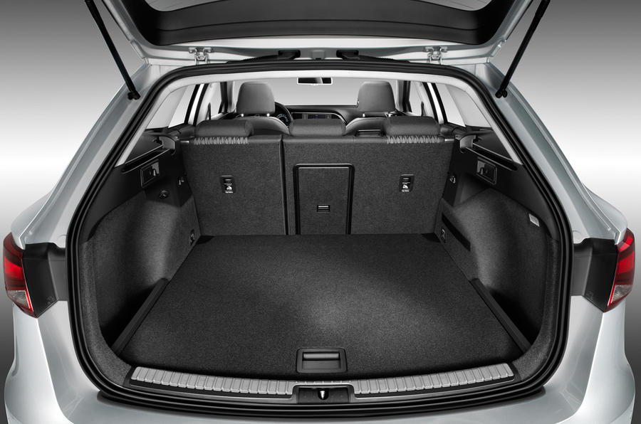 Seat Leon ST boot space